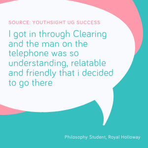 Clearing student