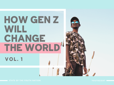 Front cover - Gen Z will change the world