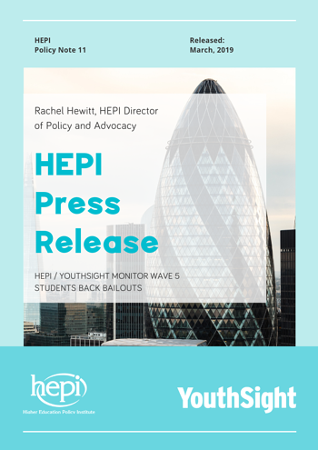 HEPI Press Release Cover Image