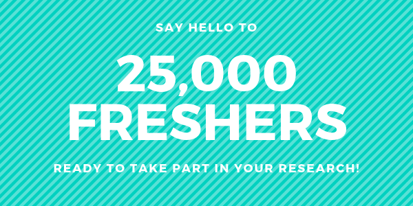 say hello to 25,000 first year students(1)(1)