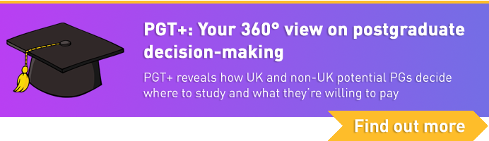 PGT+: Your 360° view on postgraduate decision-making. Find out more