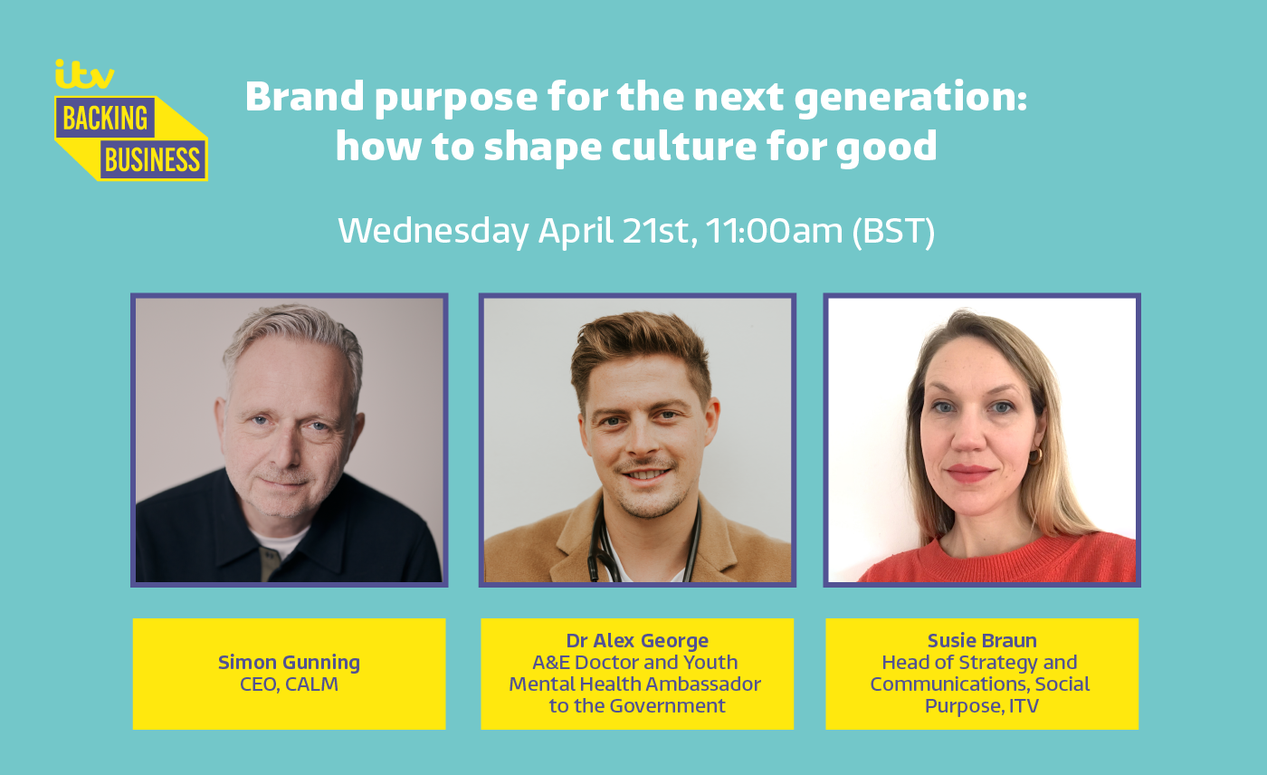 Brand Purpose for the Next Generation   ITV x YouthSight Webinar   21st April 2021