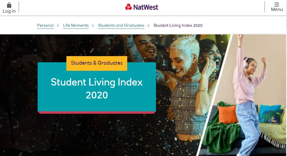 YouthSight are the Official Panel Providers for the NatWest Student Living Index 2020