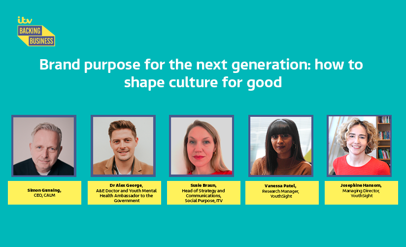 Brand Purpose for the Next Generation | ITV x YouthSight | Watch the Webinar Playback